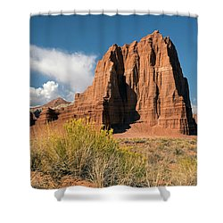 Tower Of The Sun Shower Curtain