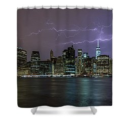Shower Curtain featuring the photograph Tower One  by Anthony Fields