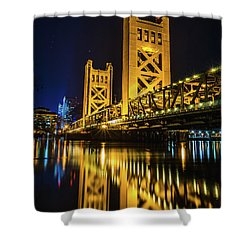 Tower Reflections Shower Curtain