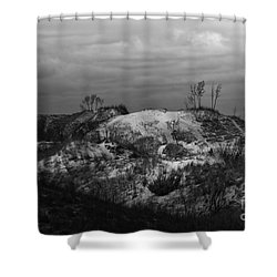 Shower Curtain featuring the photograph Towering Beauty by Anita Oakley