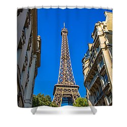 Shower Curtain featuring the photograph Towering Landmark by Kim Wilson