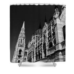 Towering Spires Shower Curtain