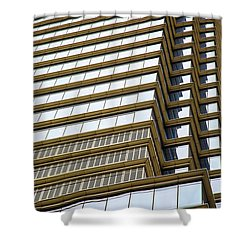 Shower Curtain featuring the photograph Towering Windows by Karol Livote