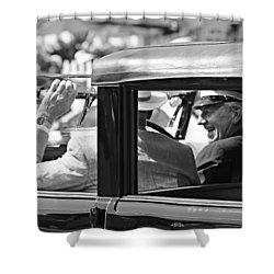 Town Car At Pebble Beach Shower Curtain