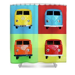 Toy Campers Shower Curtain