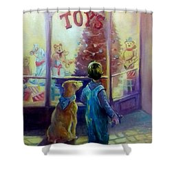 Toy Shop Shower Curtain