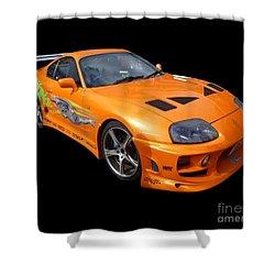 Toyota Supra Shower Curtain