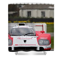 Toyota Ts010  Shower Curtain
