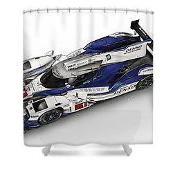 Toyota Ts030 Hybrid Shower Curtain