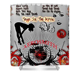 Toys In The Attic Shower Curtain by Michael Damiani