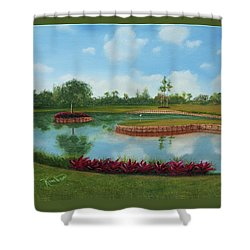 Tpc Sawgrass 17th Hole Shower Curtain