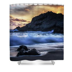 Traces Shower Curtain