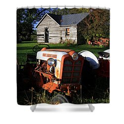 Tractor And Shed Shower Curtain