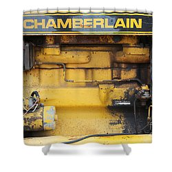 Shower Curtain featuring the photograph Tractor Engine Iv by Stephen Mitchell