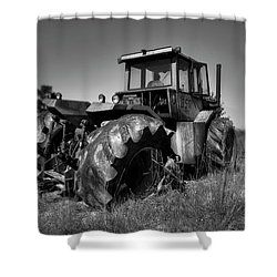 Tractor In The Countryside Shower Curtain