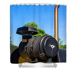 Tractor Pipe Shower Curtain