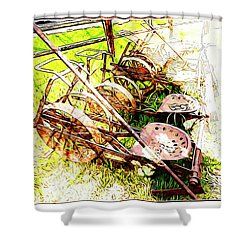 Tractor Seats Shower Curtain