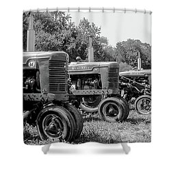 Tractors Shower Curtain