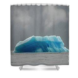 Iceberg - Tracy Arm Fjord Shower Curtain