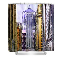 Trading Places Shower Curtain by John Beck