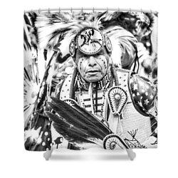 Traditional Dancer  Shower Curtain by Clarice Lakota
