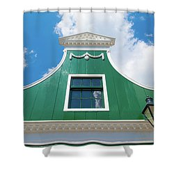 Traditional Dutch House Shower Curtain