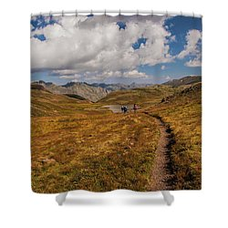 Trail Dancing Shower Curtain