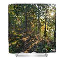 Trail Shower Curtain