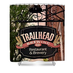 Trailhead Brewing Company Shower Curtain
