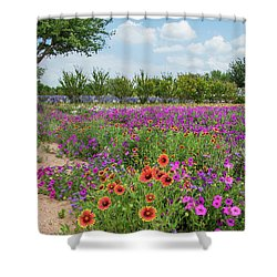 Trailing Beauty Shower Curtain