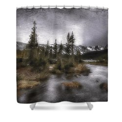 Trails End Shower Curtain