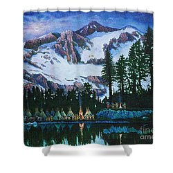 Trails West II Shower Curtain