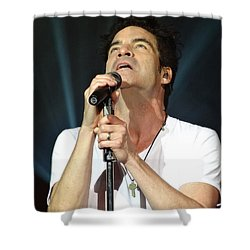 Train's Pat Monahan Shower Curtain
