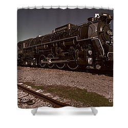 Shower Curtain featuring the photograph Train Engine # 2732 by Melissa Messick