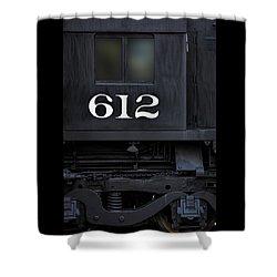 Train Engine 612 Shower Curtain