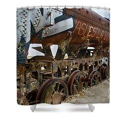 Train Graveyard Uyuni Bolivia 14 Shower Curtain