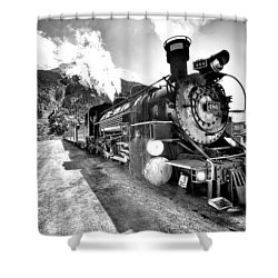Train Nin Silverton Colorado Shower Curtain