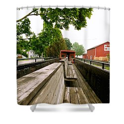Train Ride Shower Curtain
