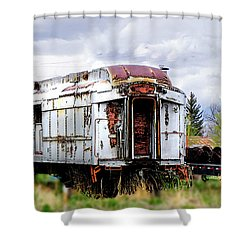 Train Tootoot Shower Curtain