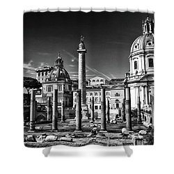 Trajan's Forum - Forum Traiani Shower Curtain