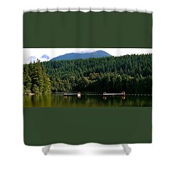 Tranquil Alice Lake Shower Curtain