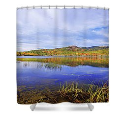 Shower Curtain featuring the photograph Tranquil by Chad Dutson