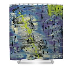 Tranquil Dream I Shower Curtain by Cathy Beharriell