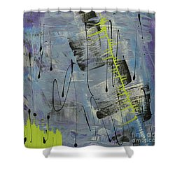 Tranquil Dream II Shower Curtain by Cathy Beharriell