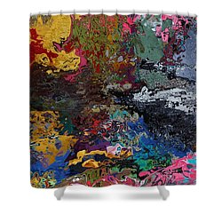 Tranquil Escape-1 Shower Curtain by Alika Kumar