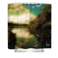 Tranquil Nature Awaits Shower Curtain