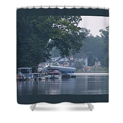 Tranquil River Shower Curtain