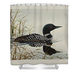 Tranquil Stillness Of Nature Shower Curtain by James Williamson