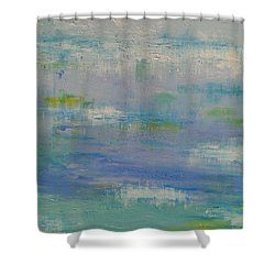 Tranquil Waters Shower Curtain by Judi Goodwin