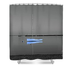 Shower Curtain featuring the photograph Tranquil Waters by Sebastian Mathews Szewczyk